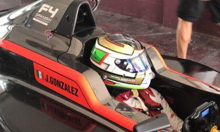 Javier González: el joven piloto mexicano que persigue el sueño de la F-1 en España