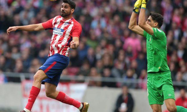 El Atlético pincha con el Girona (1-1) y se aleja de la pelea por la Liga