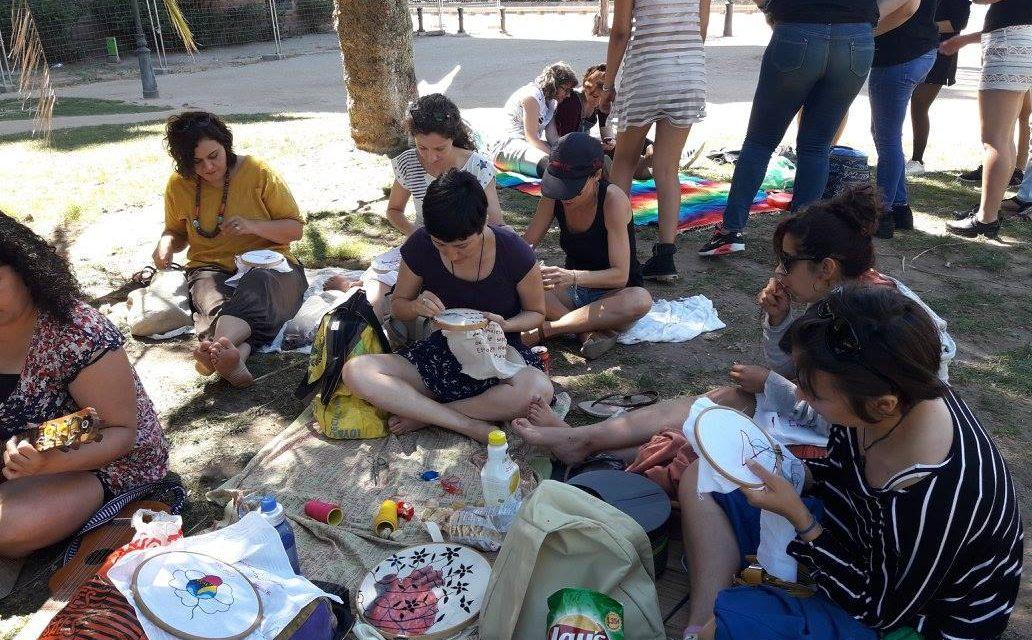 Barcelona: bordar por la Paz en México