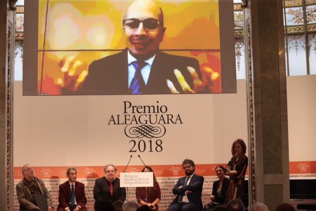"""Jorge Volpi gana el Premio Alfaguara por """"Una novela criminal"""""""