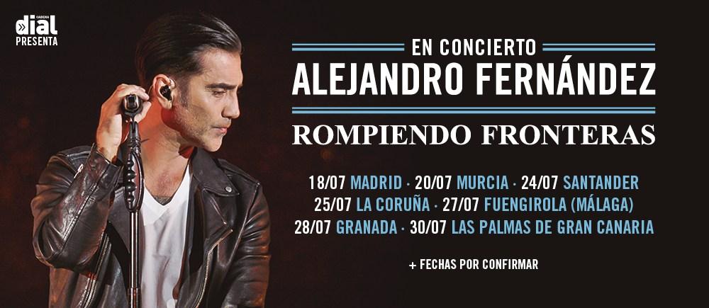 Alejandro Fernández anuncia siete conciertos en España