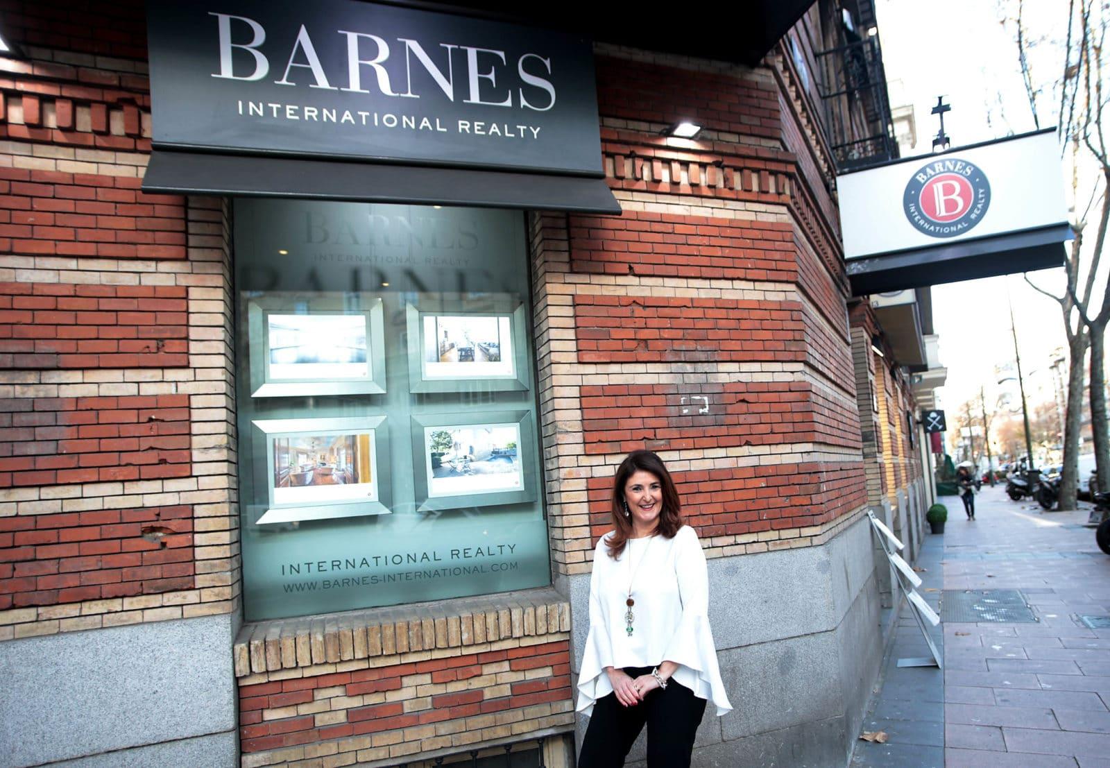 Ana Morgó de inmobiliaria Barnes, Madrid