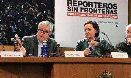La libertad de prensa retrocede en México por la violencia y en España por el 'procés' catalán