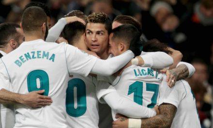 El Real Madrid se da un festín (5-2) ante una Real Sociedad sin Héctor Moreno