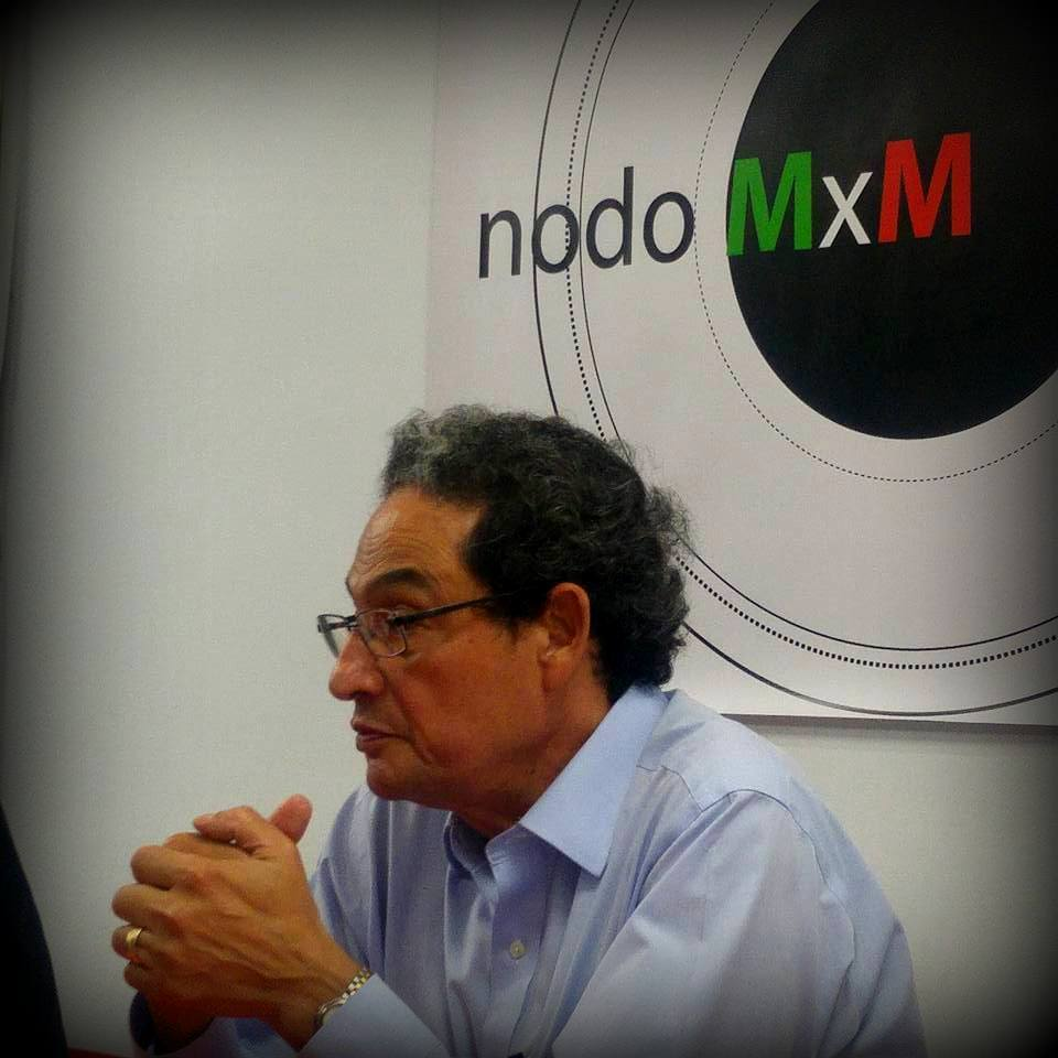 Sergio Aguayo Quezada, prestigioso analista y politólogo que habló sobre la situación del periodismo en México