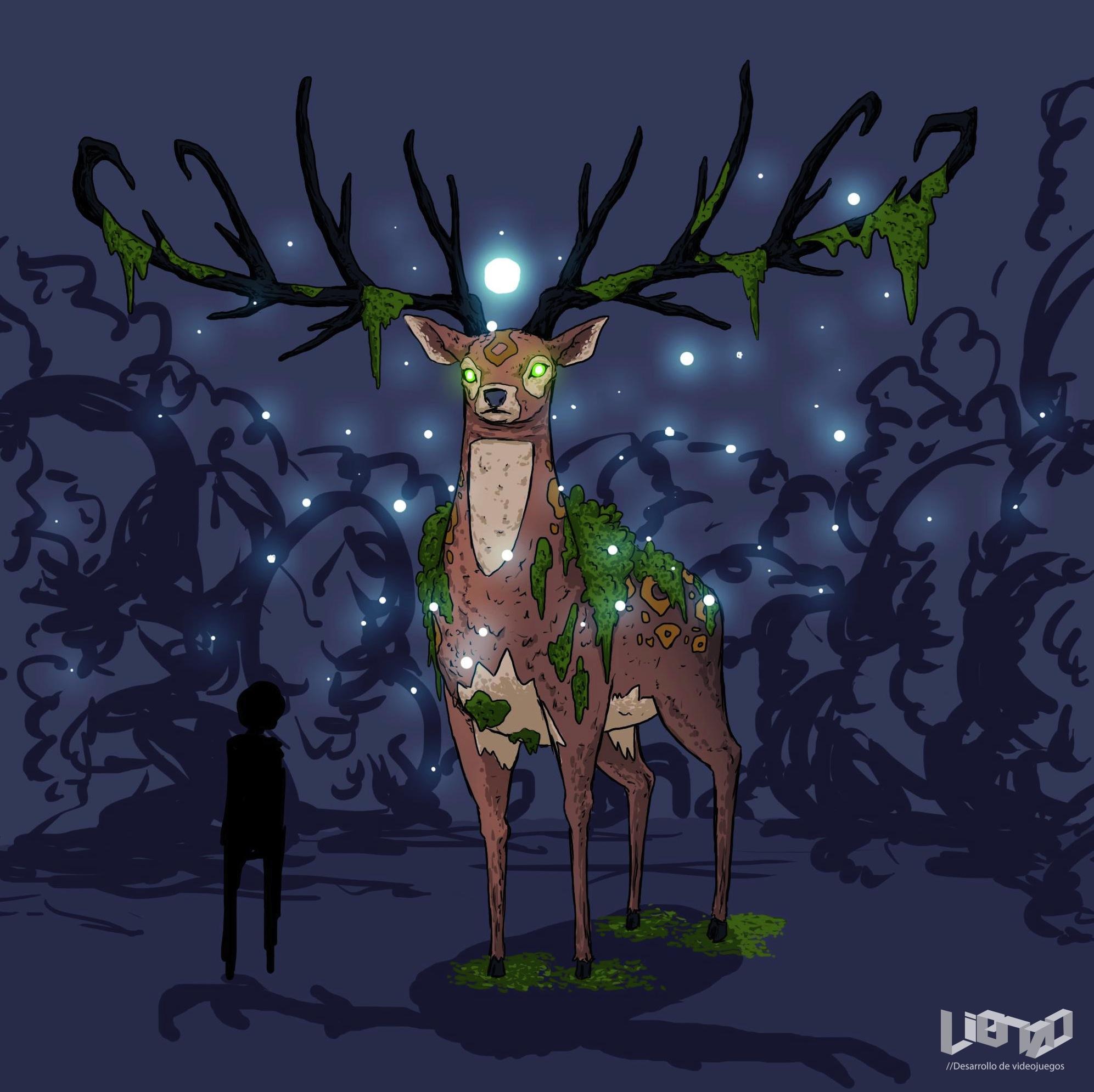 Concept Art Deer
