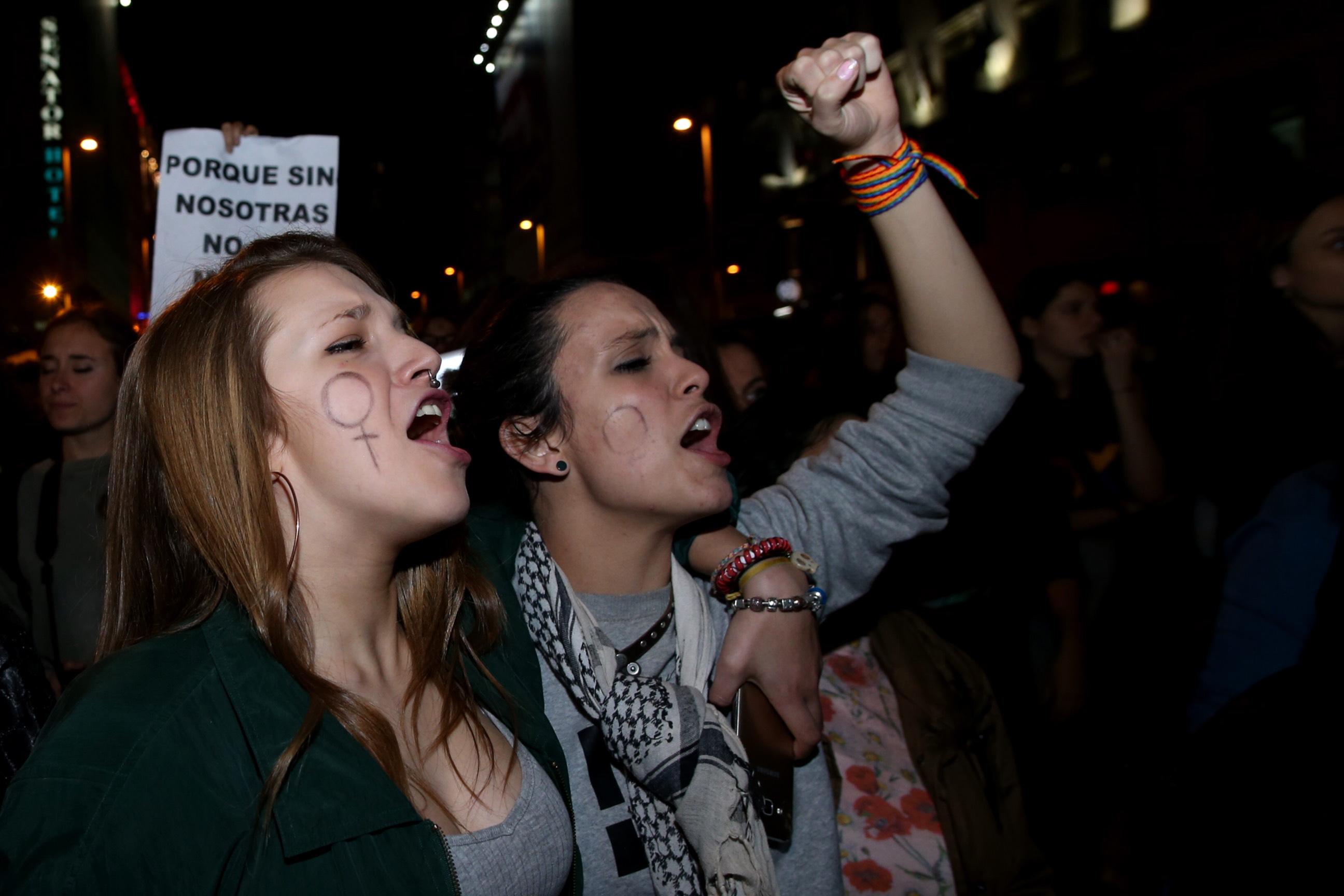 La manifestación por el Día Internacional de la Mujer de Madrid
