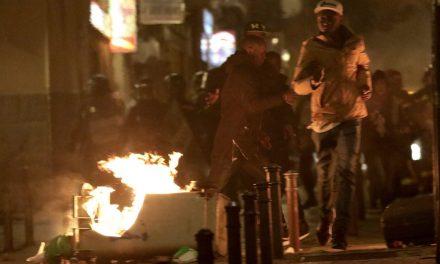 Disturbios en Madrid por la muerte de un inmigrante perseguido por la policía