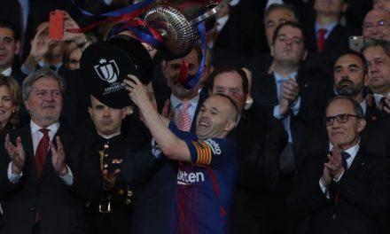 La última Copa de Iniesta