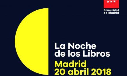 'Noche de los Libros' en Madrid: fiesta literaria con presencia mexicana