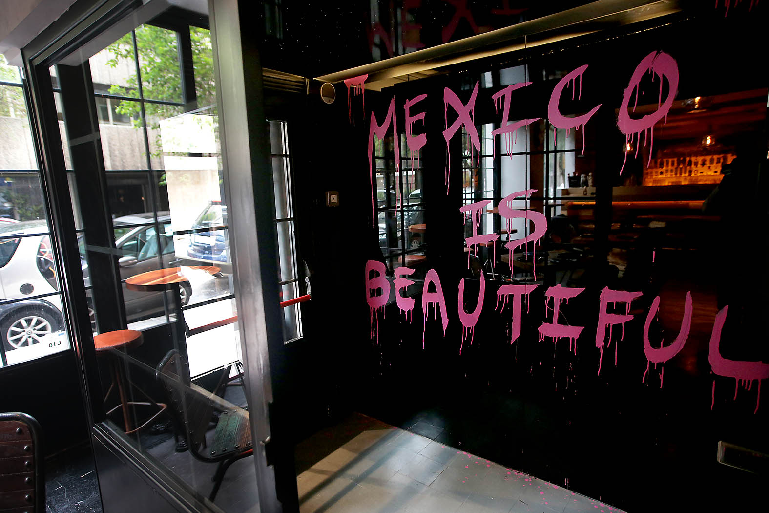 La Diavla resturante mexicano en el barrio de Salamanca, Madrid