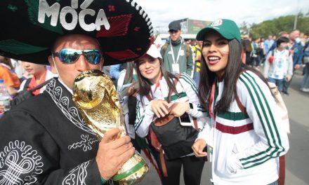 Color mexicano en la inauguración de Rusia 2018