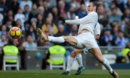 El Real Madrid golea al Depor (7-1) y Bale recupera la sonrisa