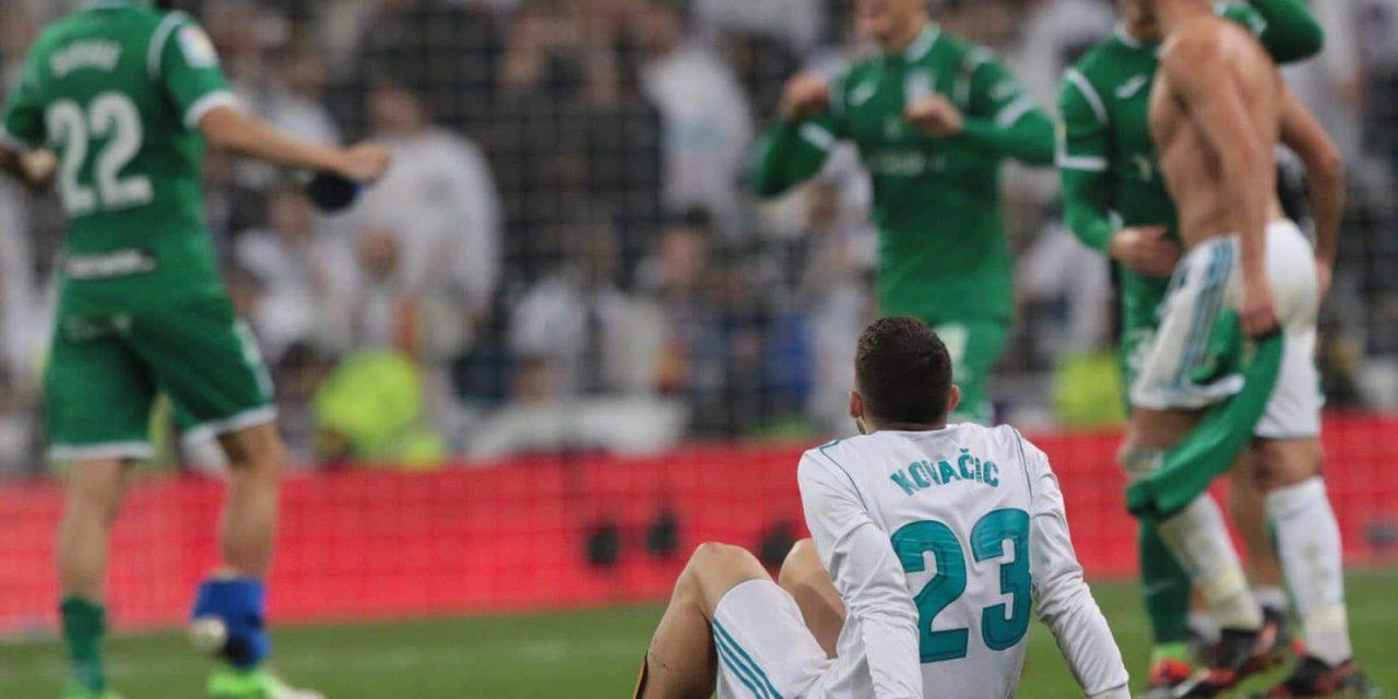 Catástrofe en el Real Madrid: Eliminado en Copa ante el Leganés y en el Bernabéu