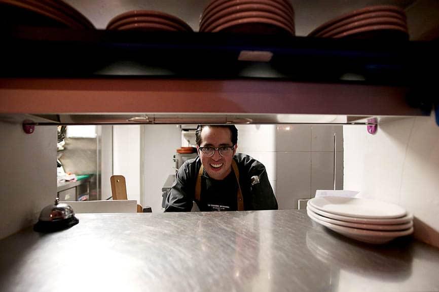 El Chef Mauricio González regresa a Madrid por segunda ocasión. Foto: Juan Carlos Rojas