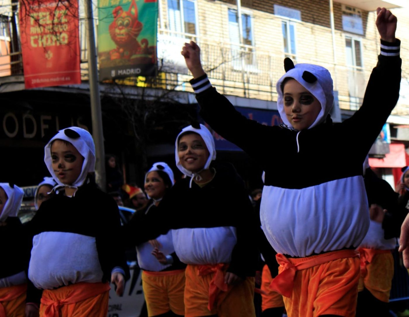 Niñps panda