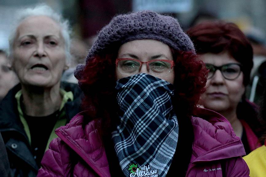 Yayos Flautas y otros colectivos contra la Ley Mordaza y en defe