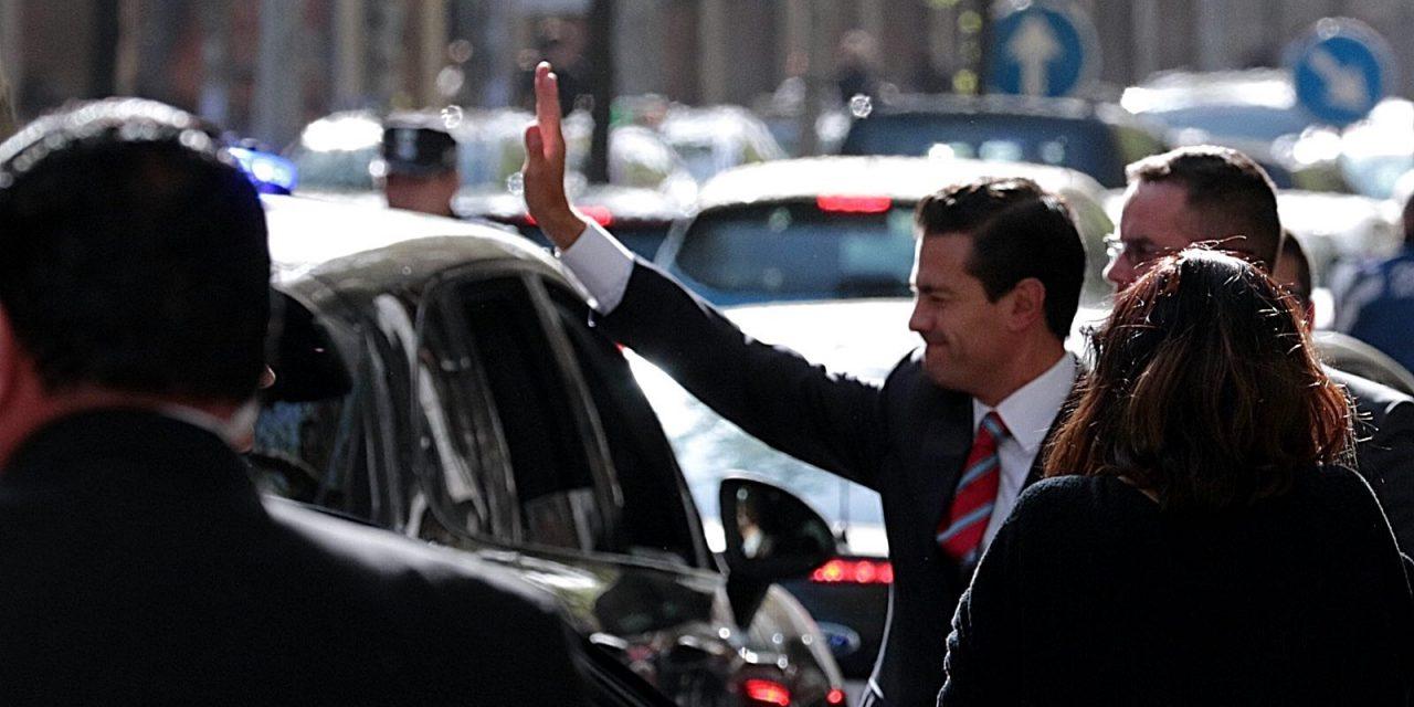Peña Nieto niega versiones de que vivirá en España: «Son cuentos chinos»