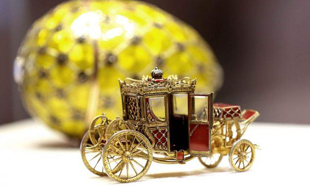 Las joyas del Museo Fabergé en San Petersburgo