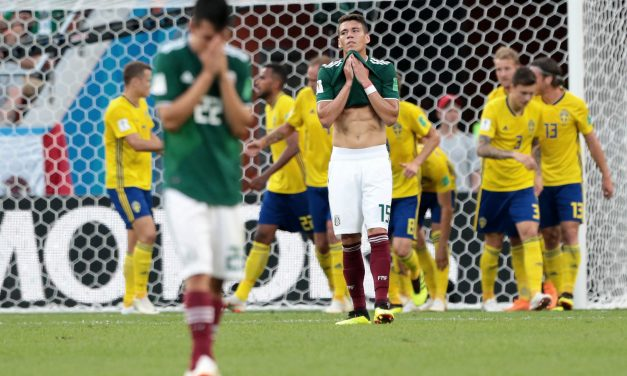 México pierde 3-0 con Suecia pero pasa a octavos