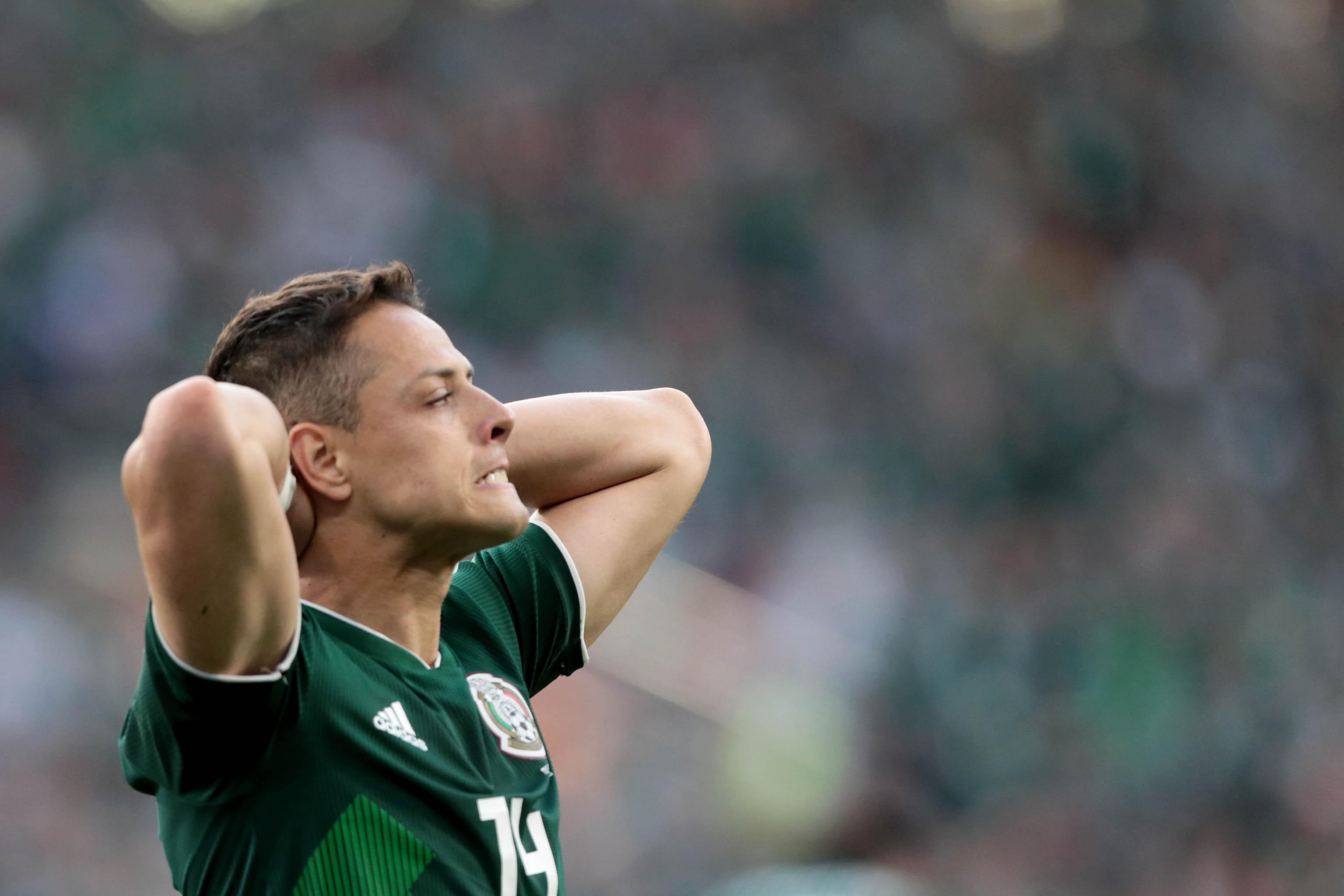 México cae 0-3 ante Suecia en partido de la Copa del Mundo real