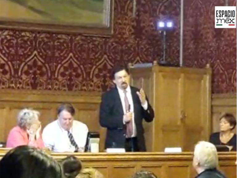 Gómez Urrutia, desde Londres: «El futuro de México depende de esta elección»