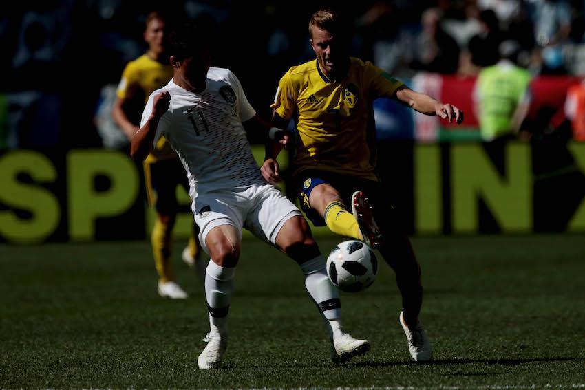 Suecia gana a Corea y allana el camino de México a octavos