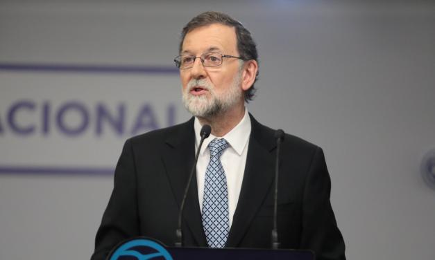 Rajoy anuncia su dimisión como líder del PP
