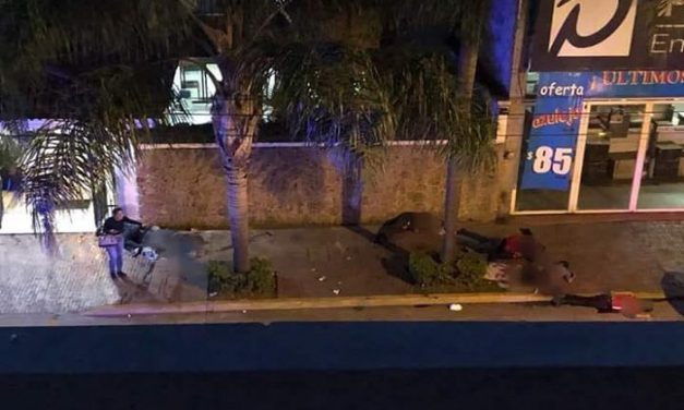 Masacre en una funeraria de Michoacán