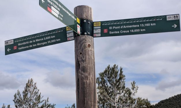 Ruta del Císter, día 4: de Vallverd a Santes Creus