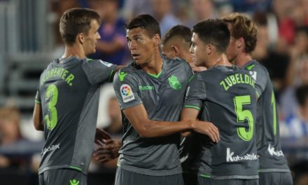Héctor Moreno y la Real Sociedad se dejan dos puntos en Leganés