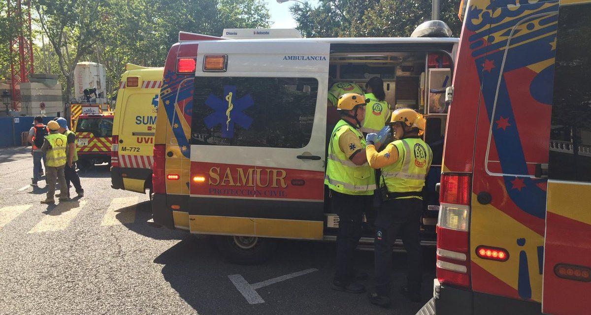 Una persona muerta y once heridas tras un desplome en las obras del Ritz en Madrid