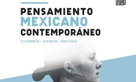"""Anuncian curso de """"Pensamiento mexicano contemporáneo"""" en Madrid"""