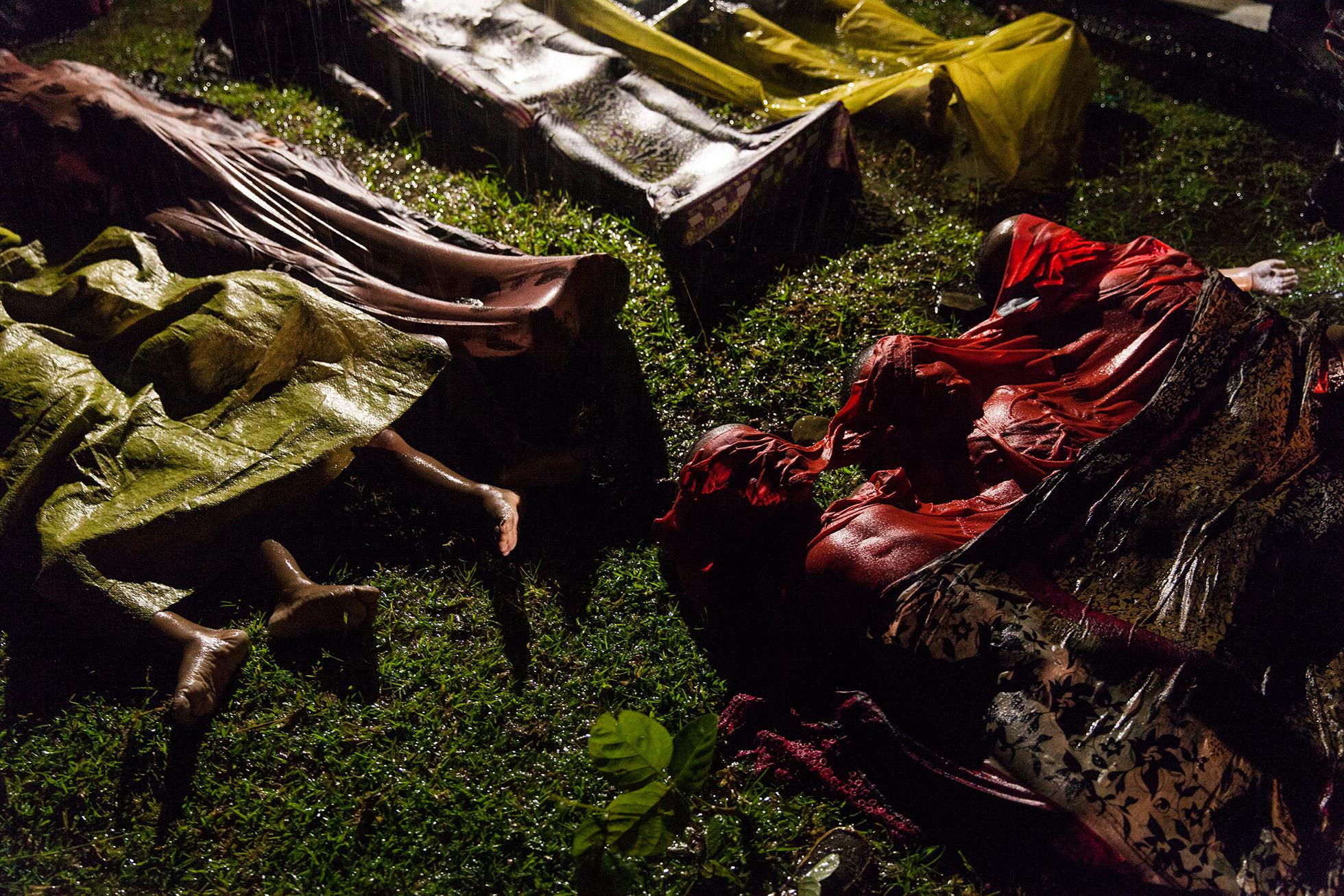 """Primer puesto de la categoría Noticias Generales """"Crisis Rohingya"""" de Patrick Brown, Panos Pictures, para Unicef"""