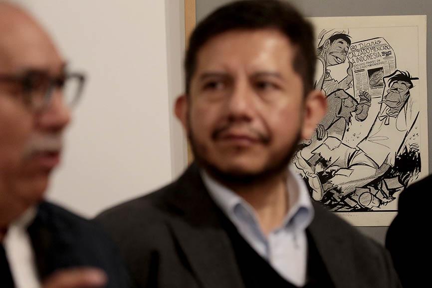 Cien años de caricatura en El Universal exposición en Alcalá