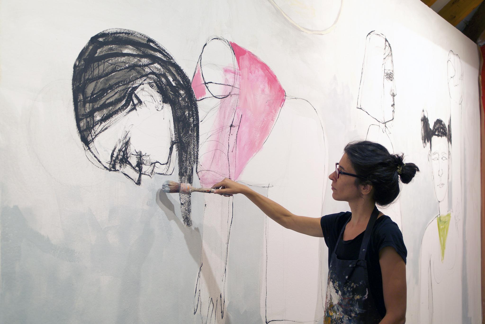 'Homenaje a la mujer anónima', de Eulogia Merle (Argentina). Imagen: Casa de América