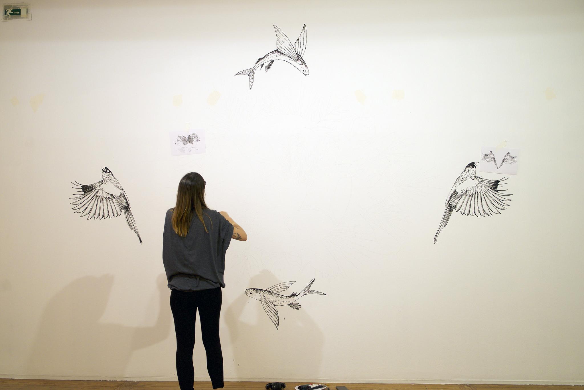 'Zoologías Femeninas', de Laura Agustí. Imagen: Casa de América