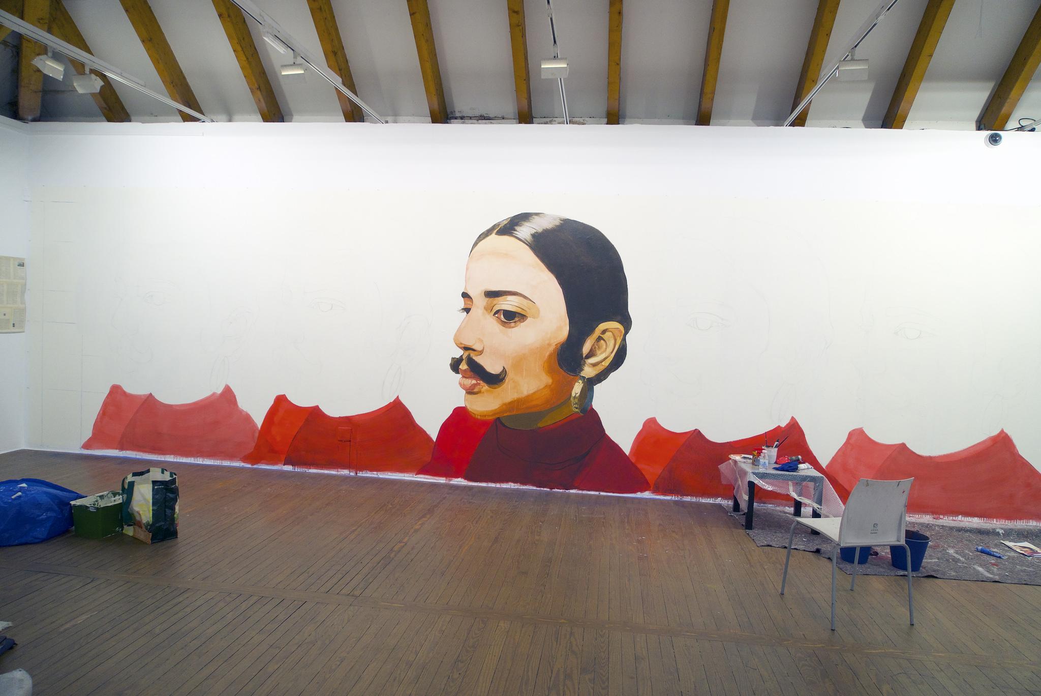 'A mi querida Ana Mendieta', de David de Las Heras (España). Imagen: Casa de América