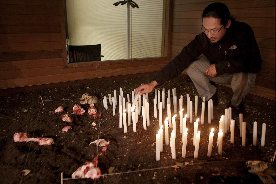Exposición de altares de muertos en Madrid
