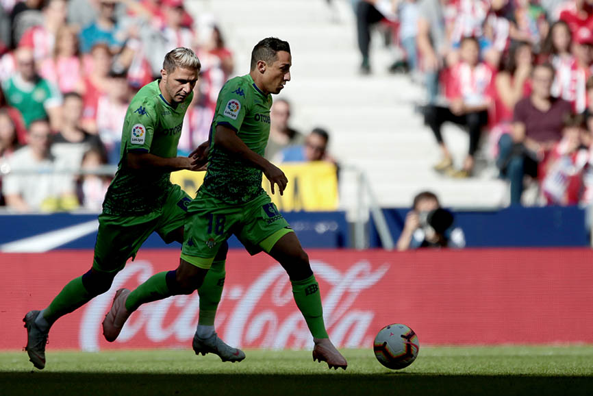 Atlético de Madrid gana 1-0 al Betis en la Jornada 8 de la liga