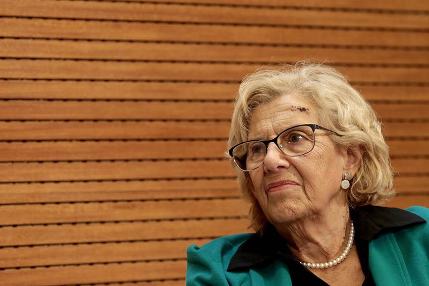 """Carmena lamenta el """"olvido"""" de Tlatelolco en la Casa de México en España"""