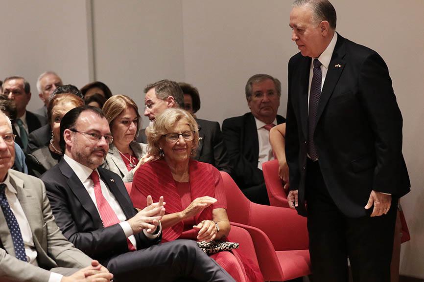 Inauguración de la Casa de México en Madrid