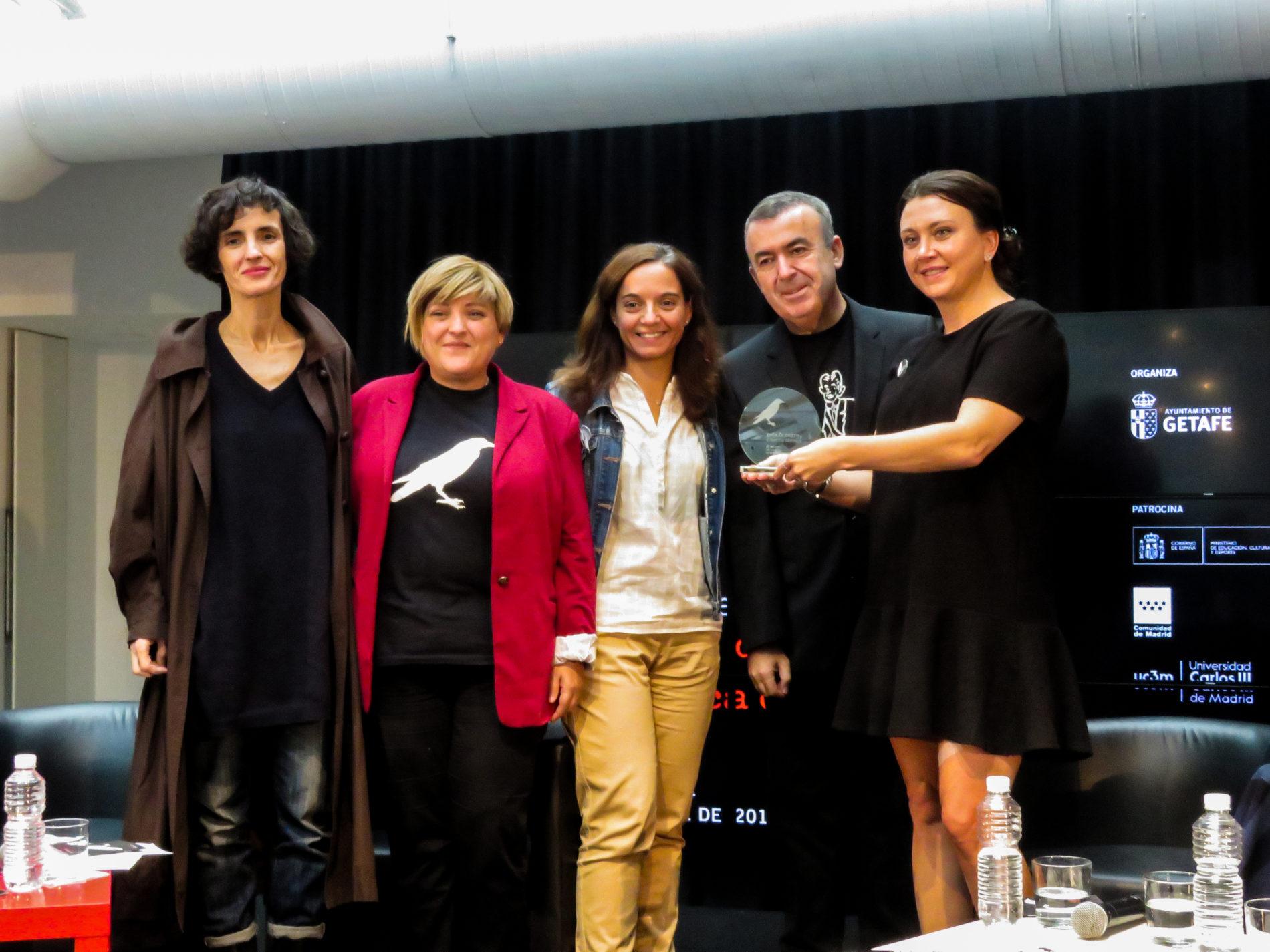 Presentación de la XI edición de Getafe Negro. Imagen: Javier González Sánchez.