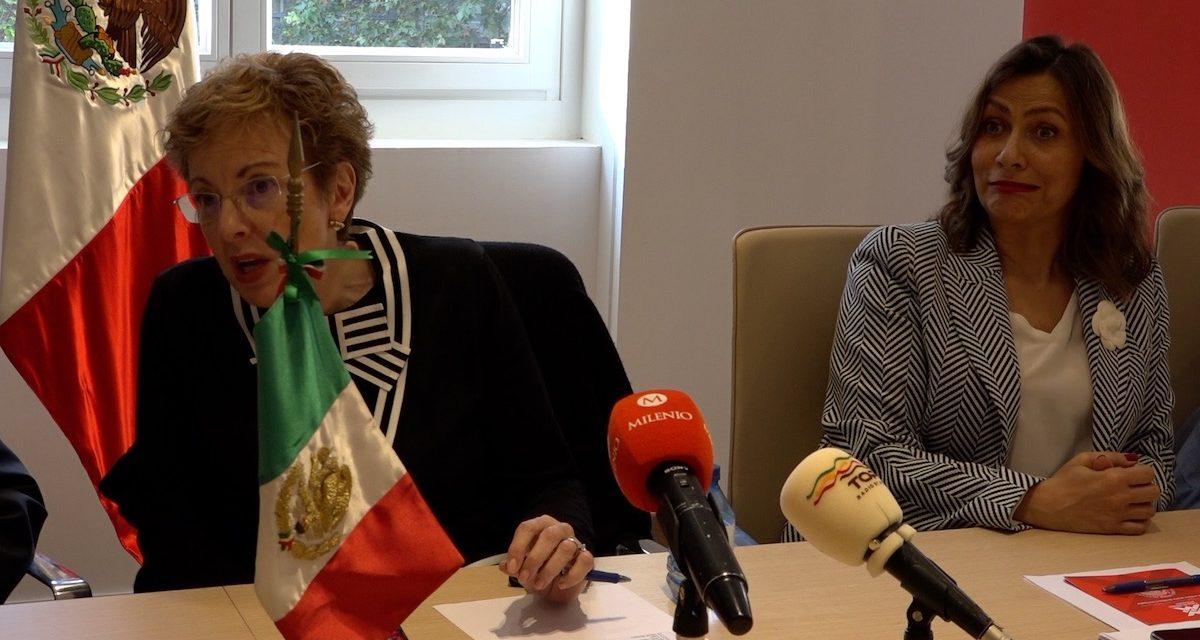 """""""No pensamos que el 2 de octubre fuera importante para la comunidad en España"""": Roberta Lajous"""