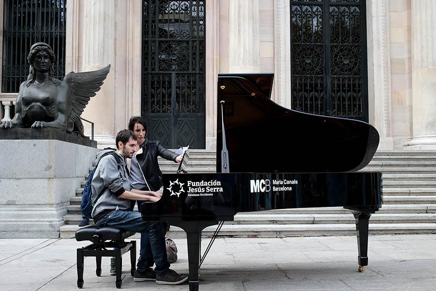 Madrid se llena de Pianos