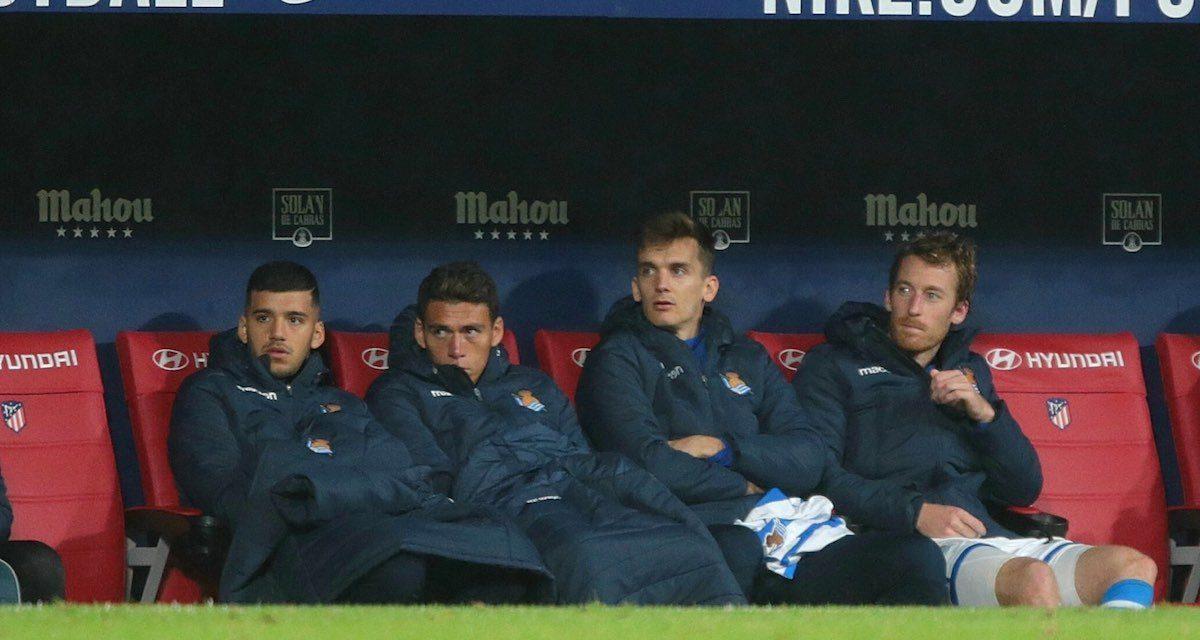 Con Héctor Moreno en la banca, el Atleti derrota (2-0) a la Real Sociedad