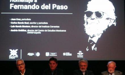 Recuerdan la grandeza de Fernando del Paso con homenaje en Madrid