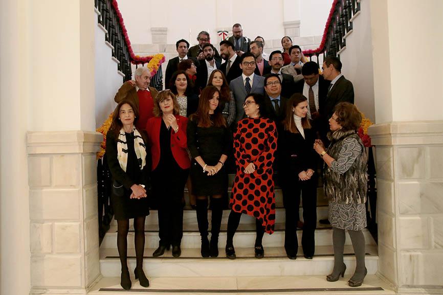Red Global Mx reúne en Madrid a talentos mexicanos de toda Europa