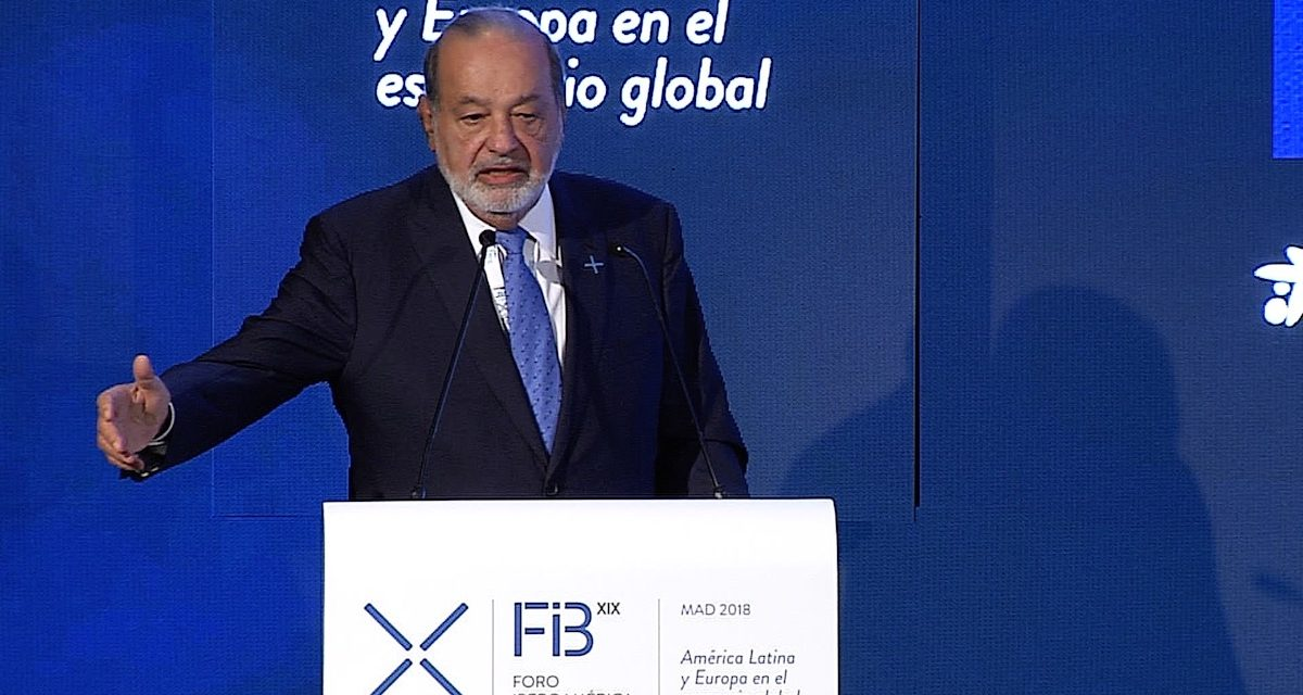 """Carlos Slim: """"La mejor inversión es combatir la pobreza"""""""