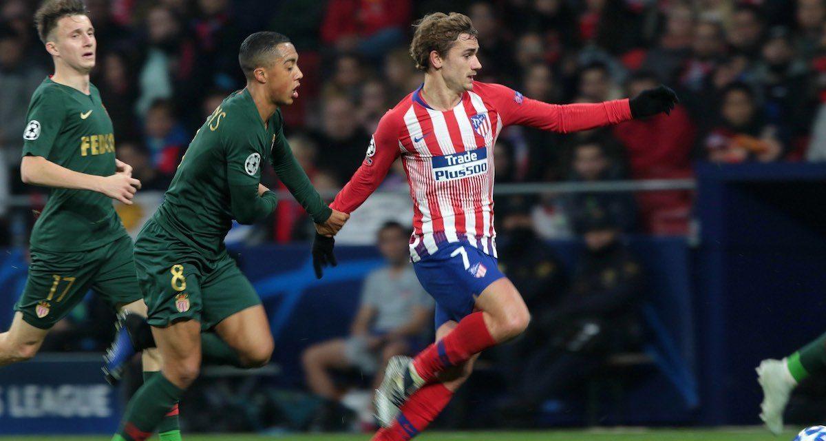 El Atlético derrota al Mónaco y se clasifica a octavos de la Champions